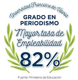 tasa empleabilidad PERIODISMO Periodismo Estudiar en Universidad Privada Madrid