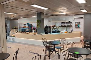 the garden cafeteria edificio M UFV En tus cafeterías Estudiar en Universidad Privada Madrid