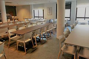 the home UFV cafeteria colegio mayor mesas En tus cafeterías Estudiar en Universidad Privada Madrid