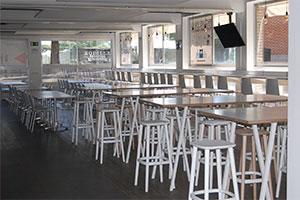 the market cafeteria mesas UFV En tus cafeterías Estudiar en Universidad Privada Madrid