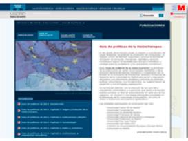 foto publicaciones cde Centro de Documentación Europea CDE