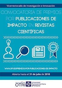 cartel premios 17 18 Investigación UFV