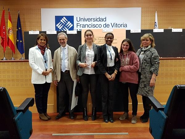 Ganador TideVi El colegio Nuestra Señora del Recuerdo (Madrid) gana la VI edición del Torneo Intermunicipal de Debate Escolar celebrado en la Universidad Francisco de Vitoria