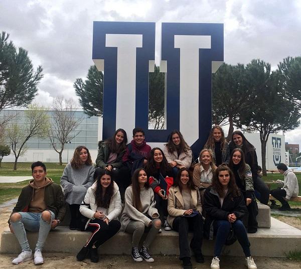 """IMG 20180412 WA0009 Alumnos de colegios de la Comunidad de Madrid realizan el programa """"4º ESO + Empresa"""" en la Universidad Francisco de Vitoria"""