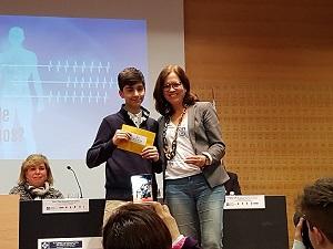 Mejor Orador TIDEVI El colegio Nuestra Señora del Recuerdo (Madrid) gana la VI edición del Torneo Intermunicipal de Debate Escolar celebrado en la Universidad Francisco de Vitoria