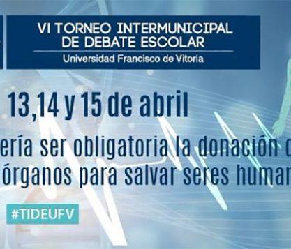 torneo intermunicipal de debate escolar 417x357 actualidad UFV