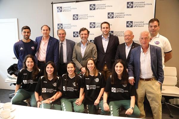 Baloncesto UFV 2 El rector de la Universidad Francisco de Vitoria felicita al equipo femenino del Club de Baloncesto Pozuelo – UFV proclamado campeón de Primera Nacional femenina de la Comunidad de Madrid Estudiar en Universidad Privada Madrid