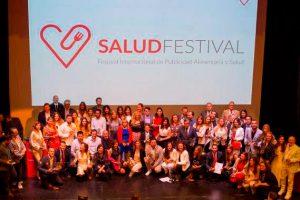 salud festival 300x200 Raquel Ayestarán, Directora Académica del Grado en Marketing, participa como jurado en los Premios Salud Festival 2018.