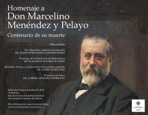 FOTO 28. Cartel Homenaje Menendez Pelayo 300x233 Foro Hispanoameriacano