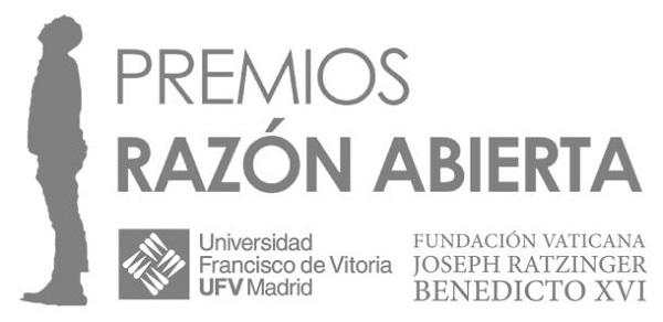 Logo La Universidad Francisco de Vitoria y la Fundación Vaticana Joseph Ratzinger/Benedicto XVI celebran la entrega de galardones de la 2º edición de los Premios Razón Abierta y el Congreso Razón Abierta