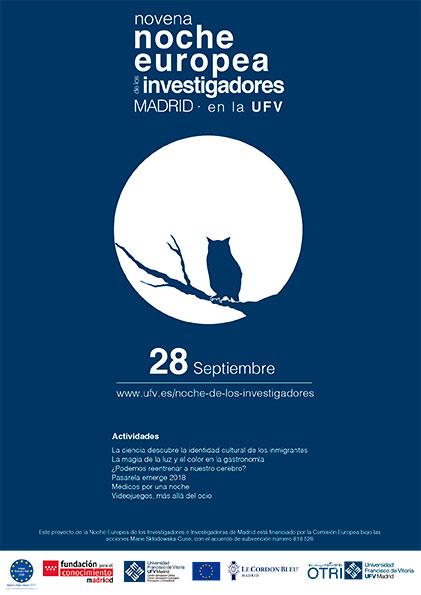 noche investigadores cartel Oficina de Transferencia de Resultados de Investigación (OTRI)