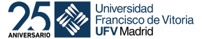 logo Universidad Francisco de Vitoria 25 aniversario