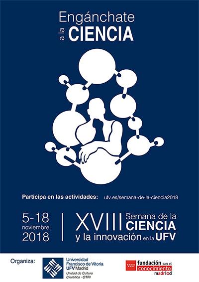 Cartel XVIII Semana Ciencia Oficina de Transferencia de Resultados de Investigación (OTRI)