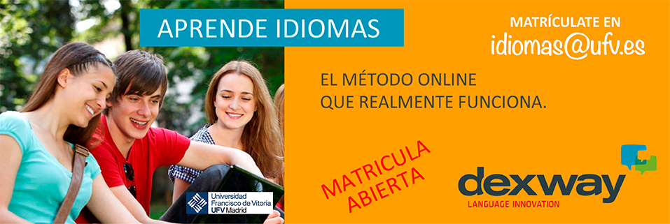 banner idiomas Cursos de Idiomas para alumnos UFV y externos