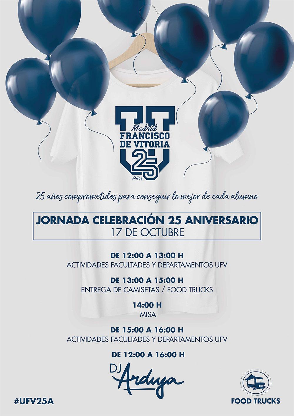 programa jornada 25aniv 1 Jornada Celebración 25 Aniversario
