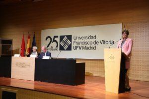 """IMG 9375 300x200 María Lacalle (Vicerrectora UFV): """"Mayo del 68 tiene muchas luces, pero también hay algunas sombras en el legado que hemos recibido"""""""