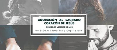 adoracion viernes Pastoral Universitaria