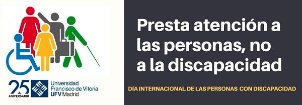 6432733a 29a3 49ca a70c f15e189716a2 La UFV se suma al Día Internacional de las Personas con Discapacidad