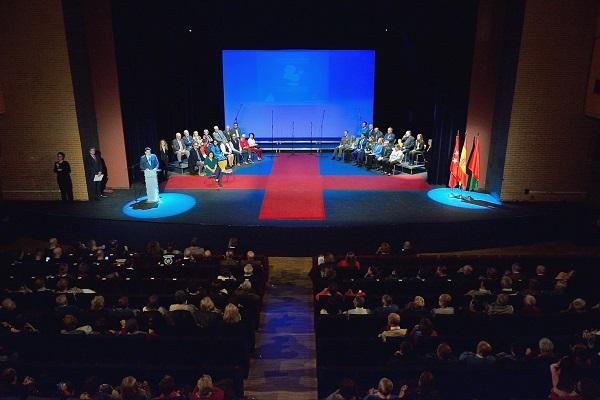 DSC 7197 La Universidad Francisco de Vitoria ha sido premiada en la gala de la solidaridad y el voluntariado de Alcorcón