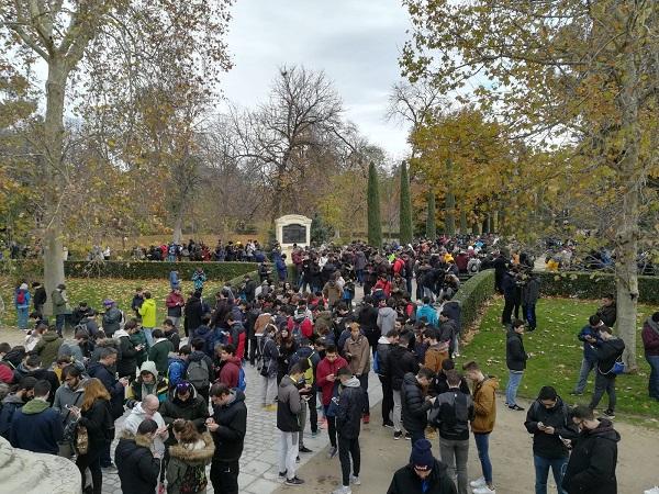 IMG pokekedada Alumnos del Grado en Videojuegos de la UFV convocan una Pokekedada en el Parque del Retiro