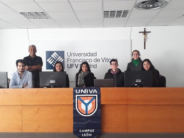 PresentaciónProyecto 3 La Universidad del Valle de Atemajac (UNIVA) visita la UFV