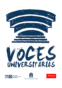 logo voces universitarias blanco Congreso Voces Universitarias ELU