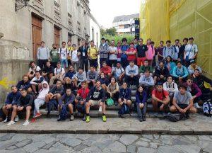 1 1 300x216 Chemi Mohedano nos cuenta su experiencia en el Camino de Santiago con alumnos de la Escuela Politécnica Superior