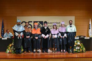 2 1 La UFV entrega las medallas doctorales a los nuevos doctores en la inauguración del Curso Académico 18/19