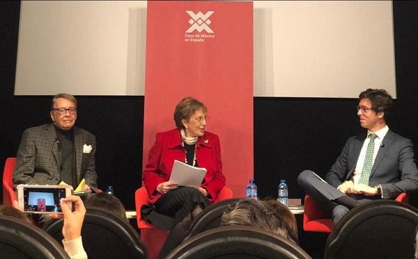 66184927 60fc 4af0 aef0 f6592658e811 Lucas Montojo, profesor de la UFV, participa en la presentación del libro del embajador Walter Astié Burgos Estudiar en Universidad Privada Madrid