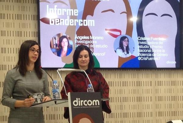 9b83f327 cafc 414b 8455 a551ff1b7e3a Cristina Fuentes presenta el 'Informe Gendercom' sobre la brecha de género