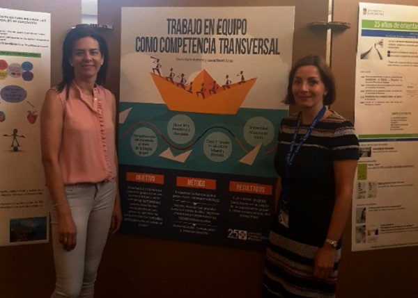 Congreso Internacional de Orientación Universitaria 1 Laura Martín Martínez y Juani Savall acuden al Congreso Internacional de Orientación Universitaria