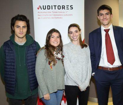 Cuatro alumnos de la UFV participan en la 12ª edición de Auditor por un día 417x357 actualidad UFV