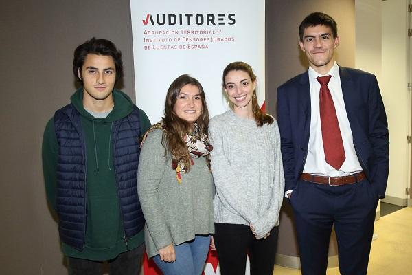Cuatro alumnos de la UFV participan en la 12ª edición de Auditor por un día Cuatro alumnos de la UFV participan en la 12ª edición de Auditor por un día