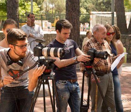 El cortometraje Viejos seleccionado en cinco certámenes nacionales e internacionales 417x357 actualidad UFV Estudiar en Universidad Privada Madrid