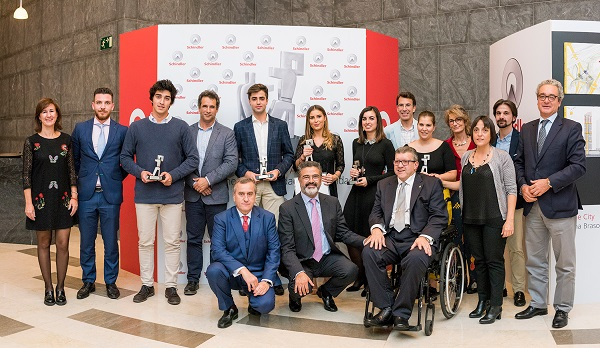 El proyecto 'Drone City' vencedor de la 7ª edición de los Premios Schindler España de Arquitectura El proyecto 'Drone City', vencedor de la 7ª edición de los Premios Schindler España de Arquitectura