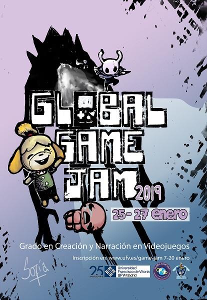 GGJ19 UFV 1 La UFV convoca a la XI edición de la Global Game Jam Estudiar en Universidad Privada Madrid