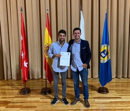 Jorge Baro alumni de CAFyD ganador del 3º premio a nivel nacional de Trabajo Final de Grado 417x357 actualidad UFV