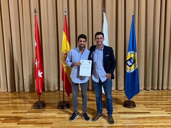 Jorge Baro alumni de CAFyD ganador del 3º premio a nivel nacional de Trabajo Final de Grado Jorge Baro, alumni de CAFyD, ganador del 3º premio a nivel nacional de Trabajo Final de Grado
