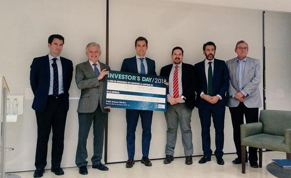 """La Red de Inversores UFV a través del Fondo de Coinversión UFV ha invertido 10.000 € «en directo» al final de las presentaciones siendo la empresa ganadora """"Electrum Tech"""" La Red de Inversores UFV, a través del Fondo de Coinversión UFV, ha invertido 10.000 € «en directo» al final de las presentaciones, siendo la empresa ganadora """"Electrum Tech"""""""