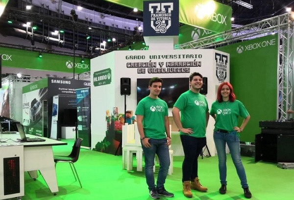La UFV participa en la 'Madrid Games Week' La UFV participa en la 'Madrid Games Week'