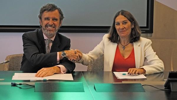 La Universidad Francisco de Vitoria y Telefónica firman un convenio de colaboración en materia de formación investigación y transferencia de conocimiento La Universidad Francisco de Vitoria y Telefónica firman un convenio de colaboración en materia de formación, investigación y transferencia de conocimiento