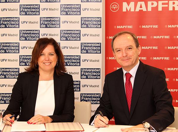 Mapfreweb La Universidad Francisco de Vitoria y Mapfre refuerzan su colaboración