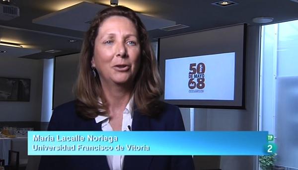 María Lacalle Testimonio La Universidad Francisco de Vitoria organiza un congreso internacional para analizar los cambios que se han producido en el último medio siglo
