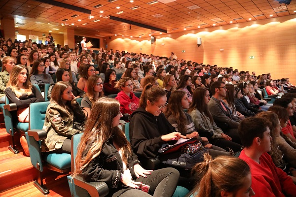 Nueva jornada de Aula Adecco en la UFV Nueva jornada de Aula Adecco en la UFV