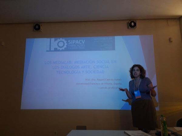 Raquel Caerols La profesora del Grado en Publicidad Raquel Caerols, ponente en el II Seminario Internacional de Pesquisa em Artes e Cultura Visual