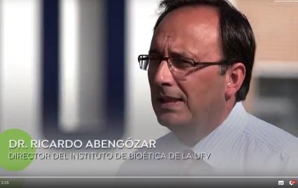 Ricardo Avengózar Ricardo Abengózar, director del Instituto de Bioética de la UFV, explica qué es la naprotecnología y por qué la UFV apuesta por la formación de médicos en esta técnica reproductiva