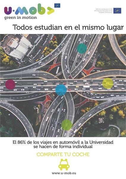 Same place one car ES flag La UFV participa en la Semana Europea de la Movilidad (SEM) 2018 Estudiar en Universidad Privada Madrid