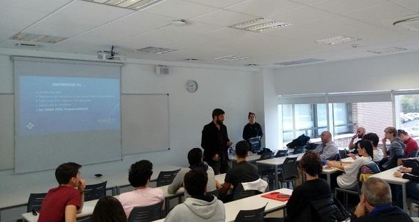 """Taller ecosistema cultura y motivación del emprendedor. El Centro de Emprendimiento UFV, organizó el taller formativo """"Ecosistema, cultura y motivación del emprendedor"""""""