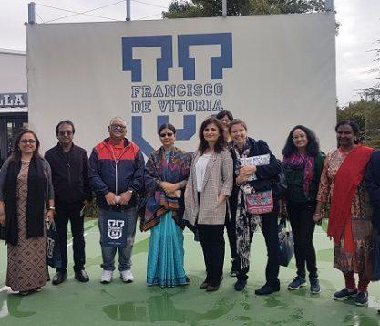 Una delegación de la India visita la UFV 417x357 actualidad UFV