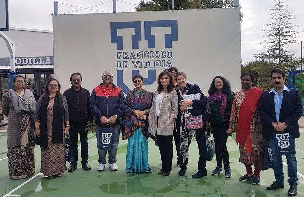 Una delegación de la India visita la UFV Una delegación de la India visita la UFV